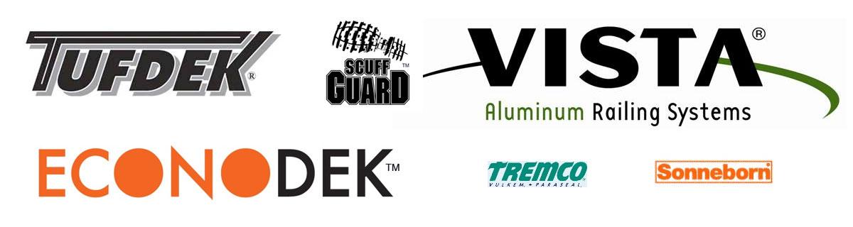Tufdek,Scuff Guard,Vista,Econodek,Tremco Sonnoborne(mastercraft)